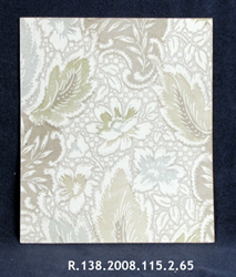 Damask Effect in Silver and Gold