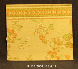 Wallpaper Sample: Needlepoint Design