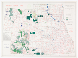 Rocky Mountain Region map / U.S. Department of Agriculture, Forest Service, Region Two.