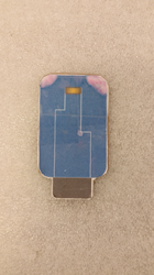 Cardboard model testing cartridge