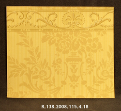 Wallpaper Sample: Authentic Damask Design